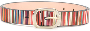 Paul Smith striped belt