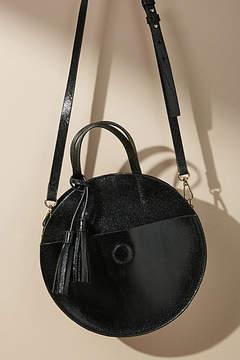 Anthropologie Circular Crossbody Bag