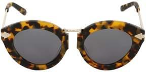 Karen Walker Lunar Flowerpatch Crazy Tort Sunglasses