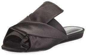 Charles by Charles David Mya Knotted Satin Slide Mule