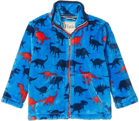 Hatley Silhouette Dino Fuzzy Fleece Jacket Boy's Coat
