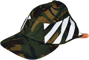 Off-White Off White Camouflage Print Cap