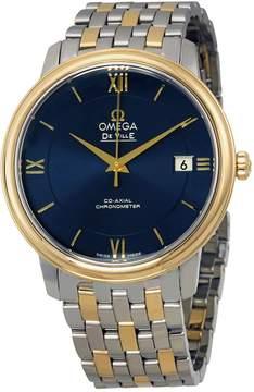 Omega De Ville Prestige Co-Axial Blue Dial Men's Watch