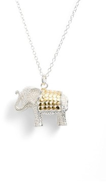 Anna Beck Women's Jewelry That Makes A Difference Elephant Pendant Necklace