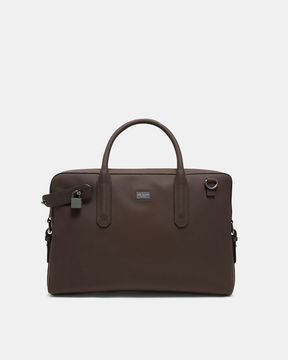 Ted Baker Rubberised leather document bag