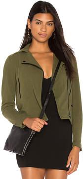 Bobi BLACK Knit Moto Jacket