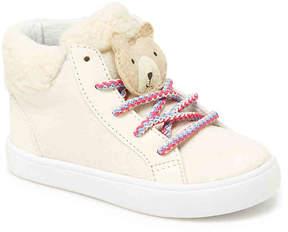 Carter's Girls Sydney 3 Toddler High-Top Sneaker