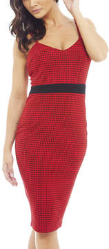AX Paris Red Cami-Style Bodycon Dress - Women