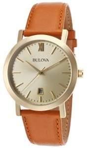 Bulova Quartz Gold Men's Analog Watch BL 97B135