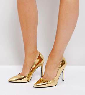 Asos PARIS Wide Fit Pointed Heels