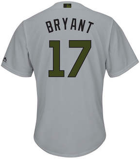 Majestic Men's Kris Bryant Chicago Cubs Usmc Cool Base Jersey