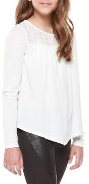 Dex Girl's Lace Long-Sleeve Tee