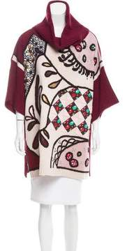 Antonio Marras Embellished Virgin Wool Turtleneck w/ Tags