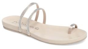 Pedro Garcia Women's Gianna Crystal Toe Ring Sandal