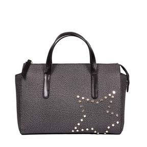 Borbonese Medium Handbag With Star