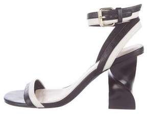 Opening Ceremony Colorblock Ankle Strap Sandals