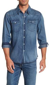 Frame Denim Long Sleeve Regular Fit Shirt