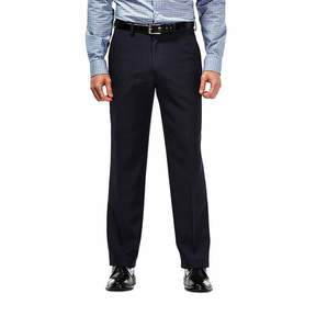 Haggar Travel Performance Stria Slim Fit Suit Pants