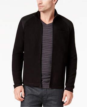Alfani Men's Contrast-Shoulder Full-Zip Jacket, Created for Macy's