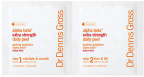 SpaceNK DR DENNIS GROSS Alpha Beta Peel Extra Strength Formula - 60 Application Packettes