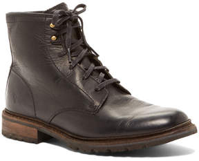 Frye James Lug Lace Up Boot