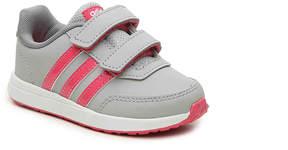 adidas Switch 2 Toddler Slip-On Sneaker - Girl's