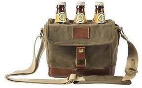 Cathy's Concepts Monogram 6-Bottle Beer Cooler - Green