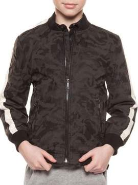 Dex Boy's Camo Bomber Jacket