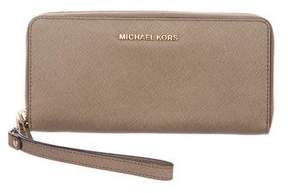 MICHAEL Michael Kors Leather Wristlet Wallet