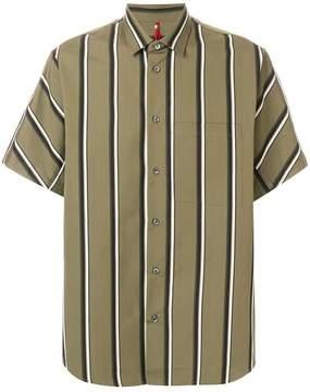 Oamc striped shortsleeved shirt