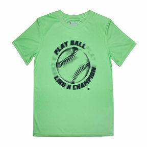 Champion Short Sleeve Crew Neck T-Shirt-Big Kid Boys