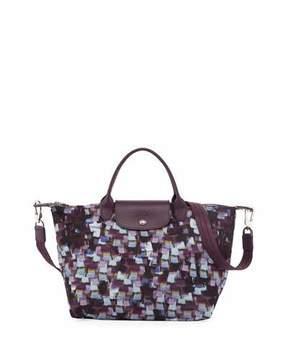 Longchamp Le Pliage Neo Vibration Medium Tote Bag with Strap