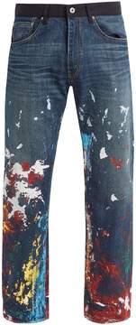 Junya Watanabe X Levi's splattered paint-effect jeans