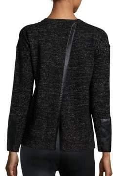 Generation Love Lexi Split-Back Cashmere Sweater
