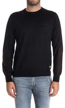 Alessandro Dell'Acqua Men's Black Wool Sweater.