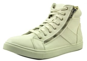 Material Girl Everet Women Round Toe Synthetic White Sneakers.