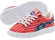 Puma Basket Classic 4th Of July Preschool Sneakers