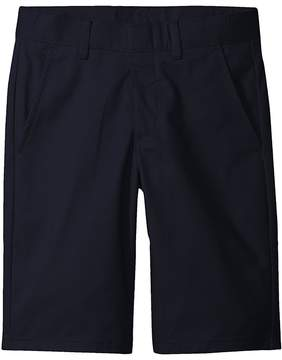 Nautica Husky Flat Front Twill Shorts Boy's Shorts