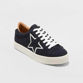 Mossimo Women's Tilly Star Lace Up Sneakers - A New Day Navy