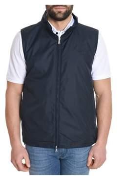Paul & Shark Men's Blue Polyester Vest.