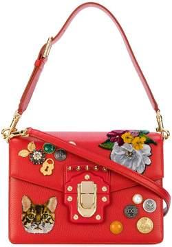 Dolce & Gabbana Lucia Zambia cat shoulder bag