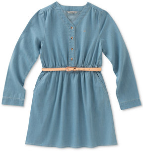 Calvin Klein Chambray Dress, Big Girls (7-16), Created for Macy's