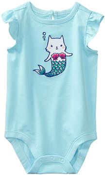 Gymboree Blue Mercat Bodysuit - Newborn & Infant