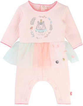 Billieblush Coverall w/ Attached Tutu, Size 3-18 Months