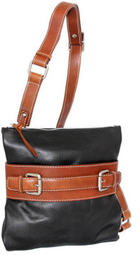 Women's Nino Bossi Delanie Leather Crossbody Bag