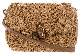 Dolce & Gabbana Miss Dolce Raffia Bag