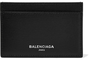 Balenciaga - Textured-leather Cardholder - Black