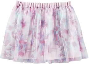 Osh Kosh Oshkosh Bgosh Girls 4-8 Floral Tulle Skirt