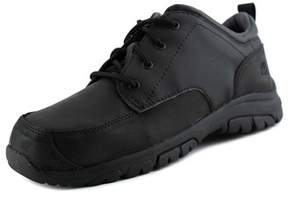Timberland Discovery Pass Plain Toe Youth Round Toe Leather Black Oxford.