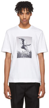 Jil Sander SSENSE Exclusive White Mario Sorrenti Edition 007 T-Shirt